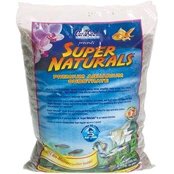 Carib Sea ACS05839 Super Natural Sunset Gold Sand for Aquarium, 5-Pound