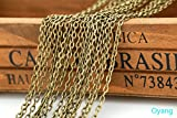 32 Feet Chain for Bracelet Necklace Vintage Antique Bronze /Silver /Gold Plated Twisted Cross Chains-jewelry Making Chain