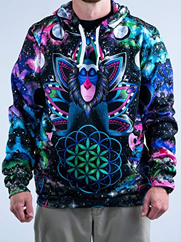 Electro Threads Hoodies • Astral Rafiki Medium