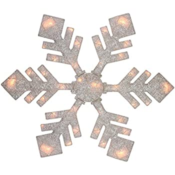 36 led folding twinkle snowflake christmas for 16 lighted snowflake christmas window silhouette decoration