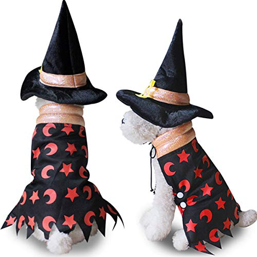 Pet Costume Halloween Spider Clothing for Dogs Cats
