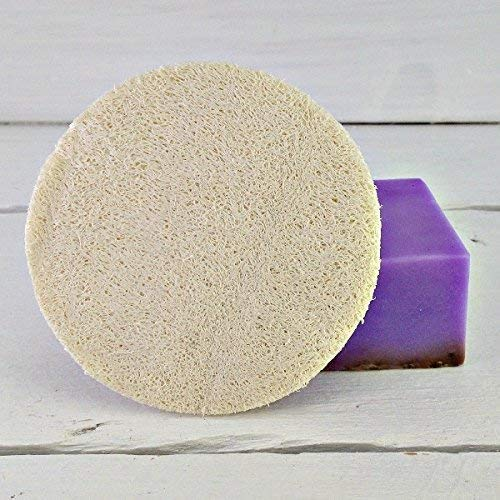 Loofah 3 Inch Scrubbie | Loofah Round | Exfoliating Disc | Facial Circle | Facial Cleansing | Facial Care | Spa Gift | Spa Party