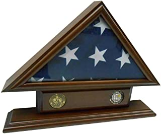 product image for 5'x9' Flag Case for Veteran/Funeral/Burial Flag - with Name Tag and 2 Coin Holder