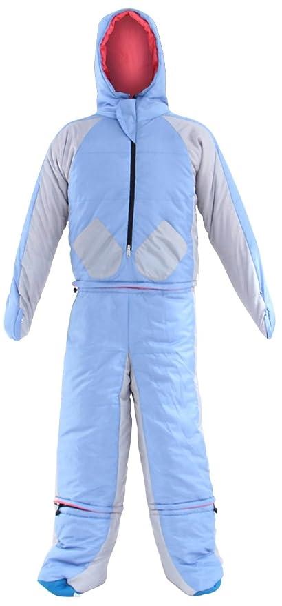 Doppelgänger Outdoor humanoide Saco de dormir Traje (mínima Temperatura + 5 & # x2103;