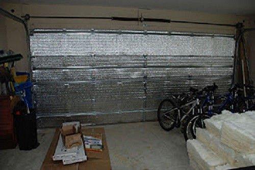 US Energy Pre-cut 16 Panel 2 Car Garage Door Insulation K...