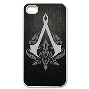 Best Phone case At MengHaiXin Store Assassin's Creed Pattern 278 For Iphone 4 4S case cover