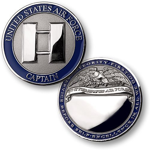 Air Force Captain - Challenge Captain Coin