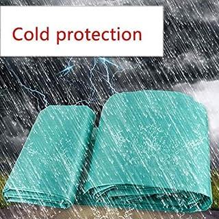 BPB Home/Prodotti per l'esterno, Telone Impermeabile Verde Perforato, Protezione Solare e Copertura per Camion Multiuso Resistente al Freddo