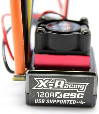 Amazon com: X-racing 120A ESC RC Sensored Brushless Motor