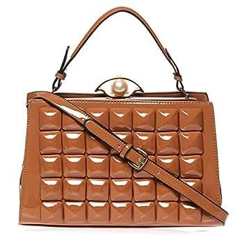 Yuejin Crossbody Bag for Women - Brown