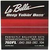 LaBella 760FL Flat Wound Bass Strings Set 43/104