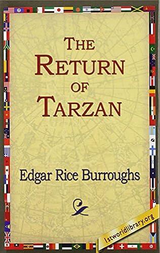 book cover of The Return of Tarzan