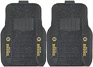 Fanmats 13856 NHL Boston Bruins Nylon Face Deluxe Car Mat