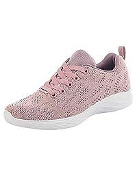 NEEKEY Women's Running Shoes Athletic Jogging Trail Running Shoes Non Slip Gym Shoes for Women Casual Walking Sneakers