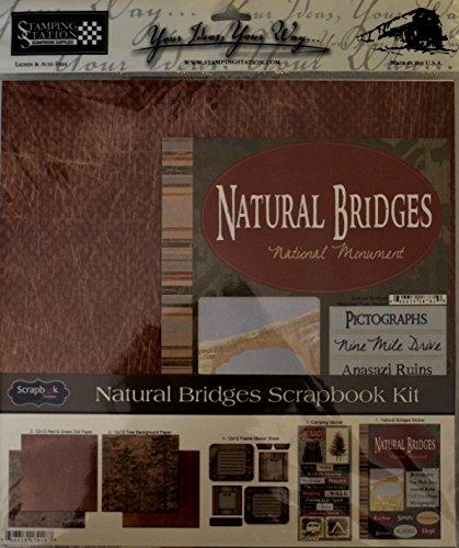 Natural Bridges Scrapbook Kit (Utah Scrapbook Kit)