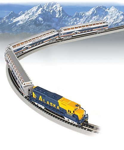 Bachmann - McKinley Explorer Train Set -- Alaska Railroad - ()