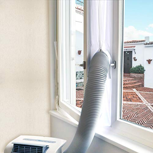 FUNTECK AC Window Seal Kit for Portable Air Conditioner
