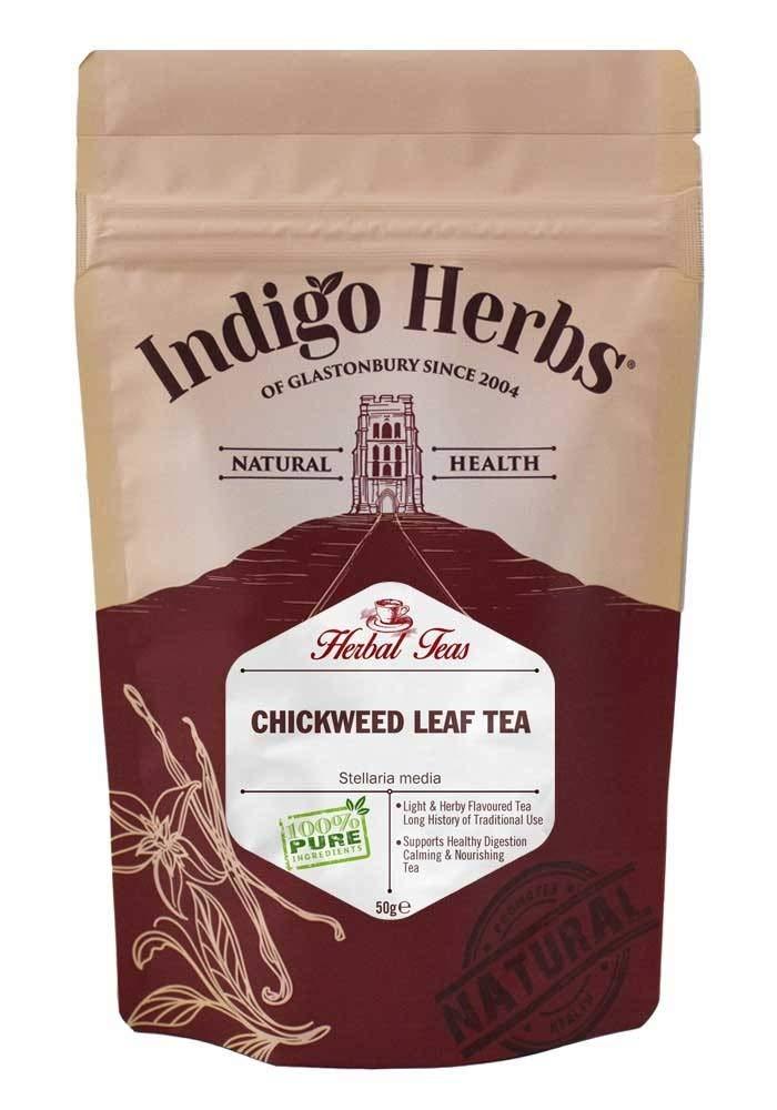 Indigo Herbs Té de Hoja de Pamplina 50g