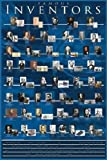 Famous Inventors Poster 24 x 36in