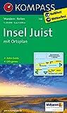 Insel Juist: Wanderkarte mit Reitwegen und touristischen Hinweisen. 1:20000. GPS genau. Mit Ortsplan 1:8000 (KOMPASS-Wanderkarten, Band 728)