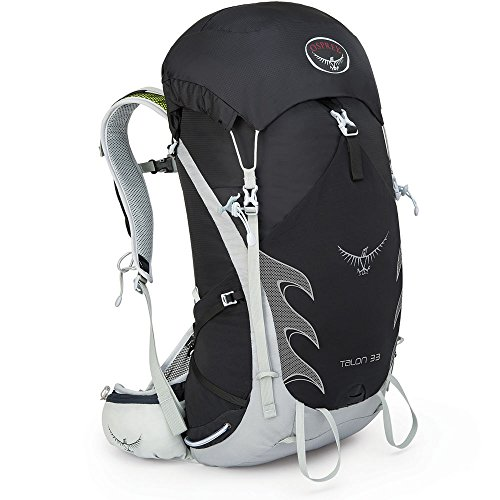 Osprey Packs Talon 33 Backpack Onyx Black MediumLarge