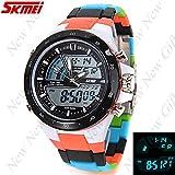 (SKMEI) Analog-Digital Quartz Watch Wristwatch Timepiece for Men