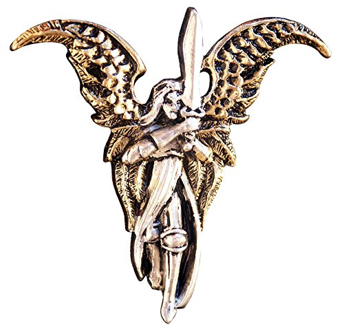 Briar Archangel Michael Pendant for Freedom from the Past Talisman Amulet - Stone Briar