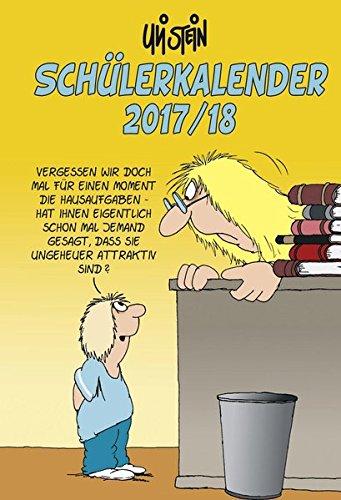 Uli Stein Schülerkalender 2017/2018 Spiralbindung