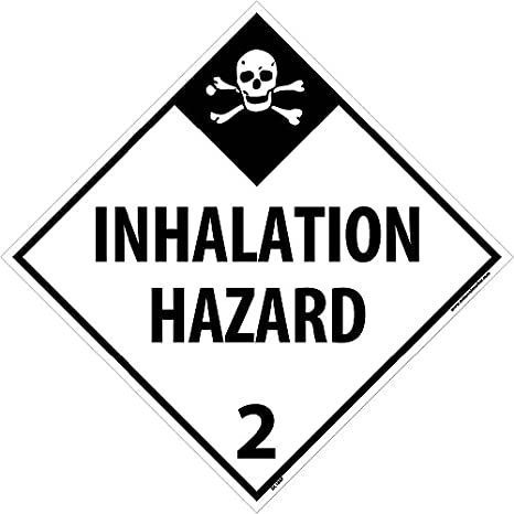 10 3//4 Inches x 10 3//4 Inches DL94P National Marker Placard 1.4 Sign Ps Vinyl Explosives S 1