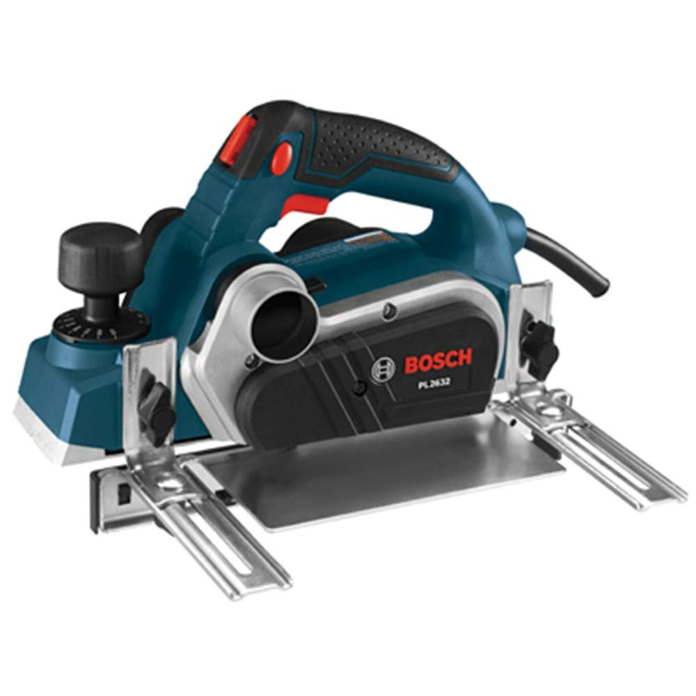 Bosch PL2632K-RT 120V 6.5 Amp 3-1/4 in. Planer Kit w/Carrying Case (Renewed)