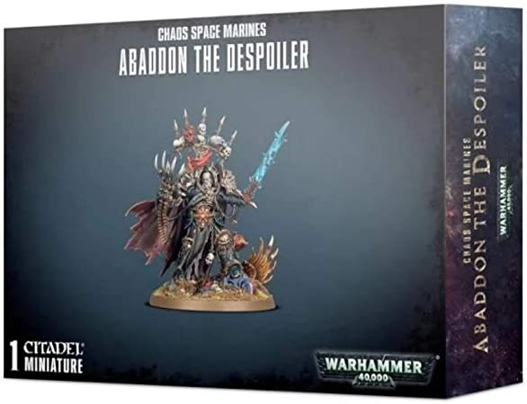 Abaddon El Despoiler-Warhammer 40k-Games Workshop-sin Abrir-Nuevo