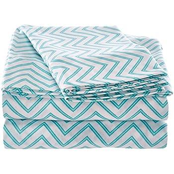 intelligent design id20714 cotton blend jersey knit sheet set queen aqua - Jersey Knit Sheets