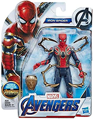Figura de acción de Iron Spider de los Vengadores de ...