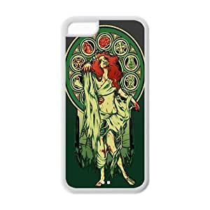 LJF phone case Custom Dreadful Zombies Rubber TPU Case For Apple ipod touch 4