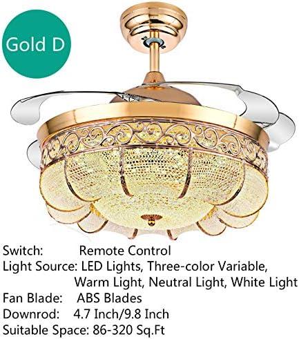 Lighting Groups 42″ Modern Retractable Ceiling Fan