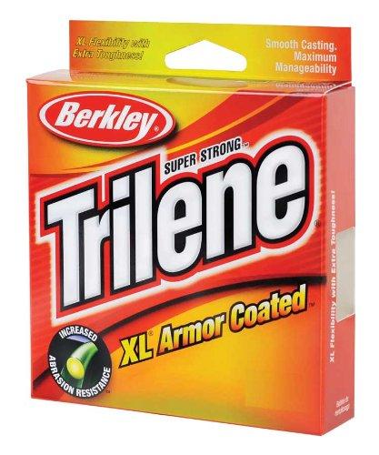 Clear 12-Pound Test 220-Yard Spool Berkley Trilene XL Armor Coated .014-Inch Diameter Fishing Line
