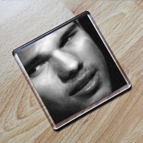 Seasons Taylor Lautner - Original Art Coaster #js002