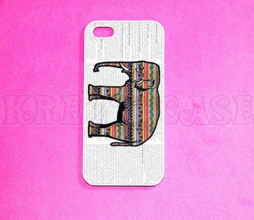 iPhone 5c case, iPhone 5c case iPhone 5c cover iPhone 5c iPhone 5c hard plastic iPhone 5c rubber Elephant with...