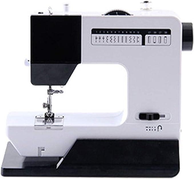 AILI Máquinas de Coser Máquina de Coser eléctrica multifunción con Mesa de expansión 16 Ojos de Bloqueo de Puntada Ropa Gruesa Manualidades y máquinas de Coser de Viaje a casa Máquinas de