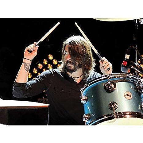NOVELOVE Imagen de Arte de Pared Dave Grohl Drummer Foo ...