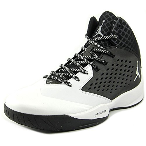 Nike Jordan Men's Jordan Rising High Black/White/Wlf Grey/Infrrd 23 Basketball Shoe 13 Men US ...