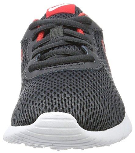Nike Jungen Tanjun (GS) Sneaker Grau (Anthracite/University Red-White)