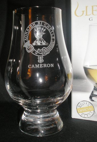 CLAN CAMERON GLENCAIRN SINGLE MALT SCOTCH WHISKY TASTING GLASS by Glencairn