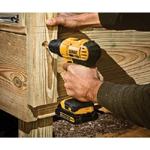 Handy cordless drills used in plumbing jobs.