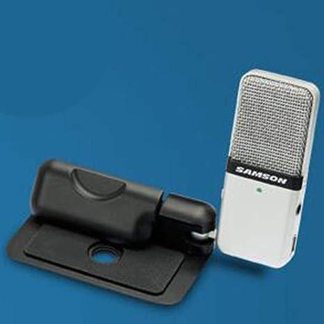 LeobooneSamson GO Mini Mic grabación del Condensador portátil Diseño con Clip con Estuche de Transporte por