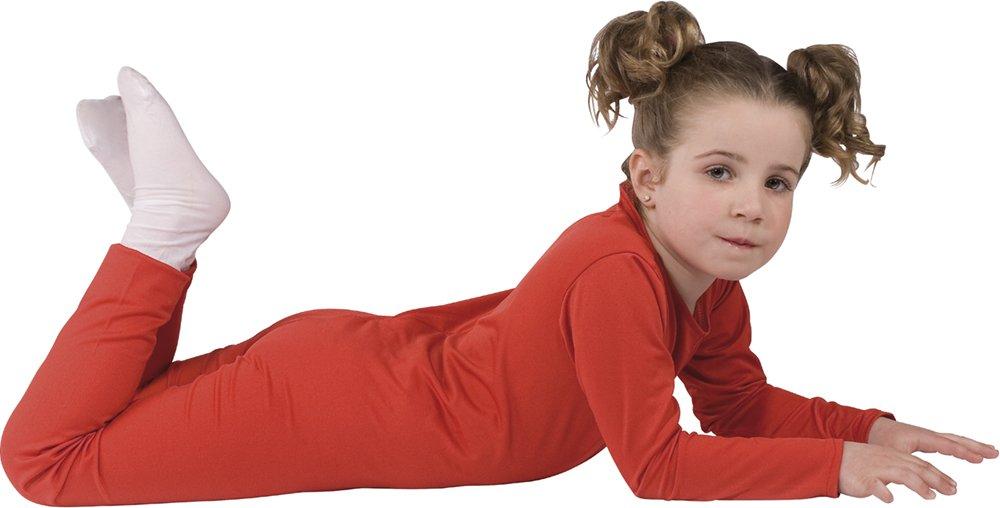 Rubies - Disfraz con mono elástico, para niños, talla S, color rojo (503025)