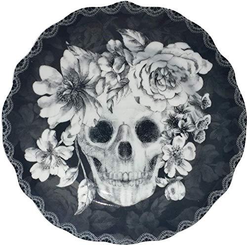 222 Fifth Halloween Marbella Skull 8-1/2