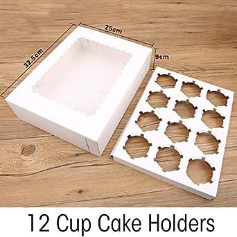 Caja de Cupcakes de 10 Piezas con Ventana Papel de Kraft ...