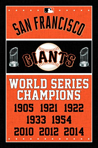 Trends International San Francisco Giants Champions Wall Posters, 22