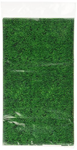 All-Over Print Grass Party Table Cover, 1Ct. -